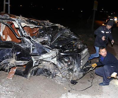 Kahramankazan'da trafik kazası: 1 ölü, 1 yaralı