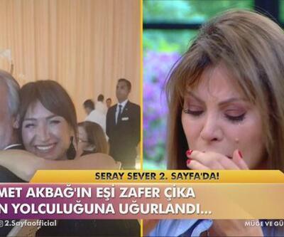 Zafer Çika'nın cenazesine katılamayan Seray Sever, gözyaşlarına boğuldu
