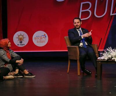 Hazine ve Maliye Bakanı Berat Albayrak, gençlerle buluştu