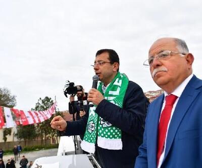Ekrem İmamoğlu seçim çalışmalarını Şile'de sürdürdü