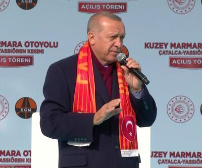 Son dakika... Cumhurbaşkanı Erdoğan: Ankara'da yine yolsuzluklar içerisinde olan bir aday koymuşlar