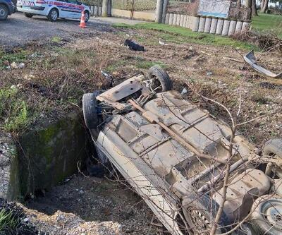 Otomobil takla attı, sürücüsü öldü