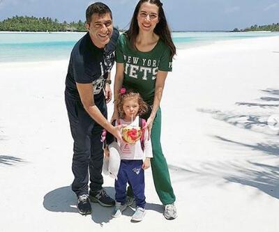 Nefise Karatay'ın kıskandıran tatili