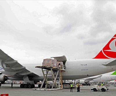 Turkish Cargo sarayın eserlerini Japonya'ya taşıdı
