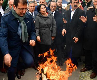 """Ekrem İmamoğlu """"Nevruz Kutlama Töreni""""ne katıldı"""