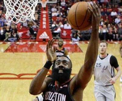 James Harden'dan 61 sayı