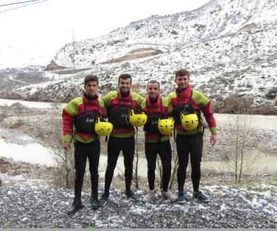 Çukurcalı gençler milli takıma Zap Suyu'nda hazırlanıyor