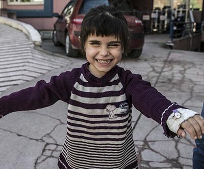 Suriyeli küçük Sidra'ya Türk hekimler ışık oldu