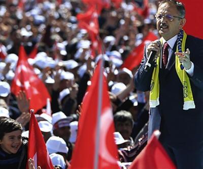 Mehmet Özhaseki: Bugün Türkiye'nin kalbi Ankara'da atıyor
