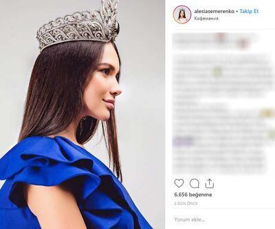 Rusya güzellik kraliçesine büyük şok: Tacını kaybetti