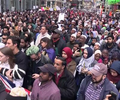 New York'ta İslamofobi'ye karşı protesto