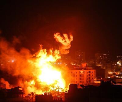 İşte İsrail'in saldırdığı Gazze'den ilk görüntüler