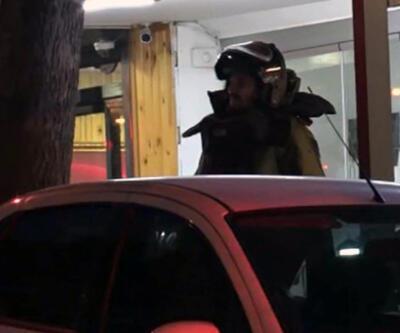 Ofise bırakılan şüpheli koli fünye ile patlatıldı