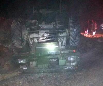 Yayladağı'nda askeri araç devrildi: 5 yaralı