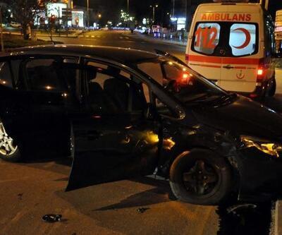 Keçiören'de trafik kazası: 3 yaralı