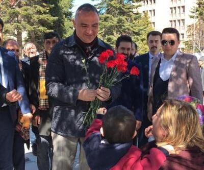 Bakan Ersoy, Sevgi Yürüyüşü'ne katıldı