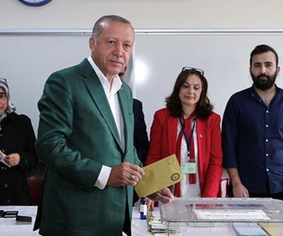 Cumhurbaşkanı Erdoğan'ın sandığından Binali Yıldırım çıktı