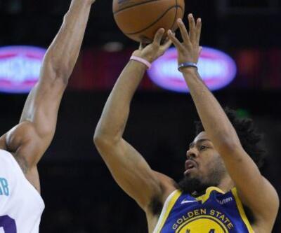 Warriors'tan Hornets'a 47 sayı fark