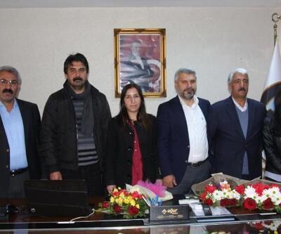 Ergani'de başkan seçilen HDP'li Kaya göreve başladı