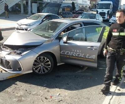 Hadımköy'de trafik kazası: 1 yaralı