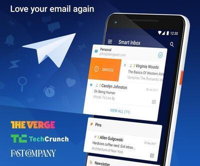 Mail uygulaması Spark Android'e geldi