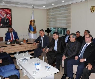 Hani'de AK Partili İbrahim Lale, göreve başladı