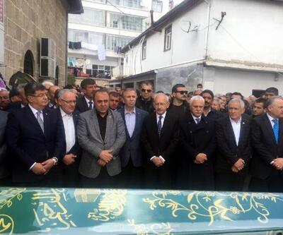 Kılıçdaroğlu, MHP'li eski vekilin babasının cenazesine katıldı