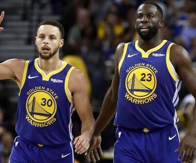 Curry'den Cavs potasına 40 sayı