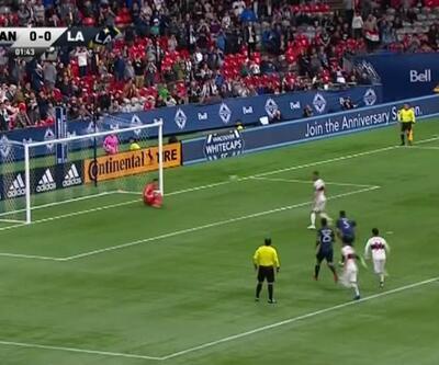 Eski Rizesporlu Ali Adnan'ın 'Panenka' penaltısı hüsranla sonuçlandı