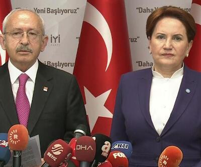 Son dakika... Kılıçdaroğlu ve Akşener'den ortak açıklama