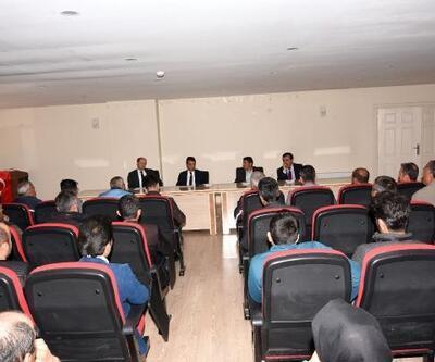 Başkan Şeylan, belediye çalışanlarıyla tanışma toplantısı yaptı