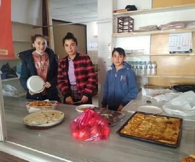 Kangallı öğrencilerden Yemen'deki çocuklara yardım eli