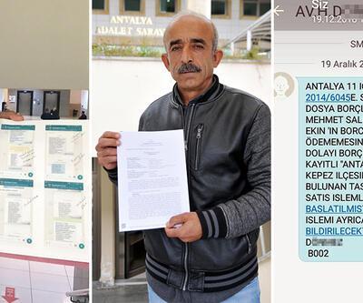 İcra mesajını akrabalarına gönderen, baskı yapan avukatı şikayet etti