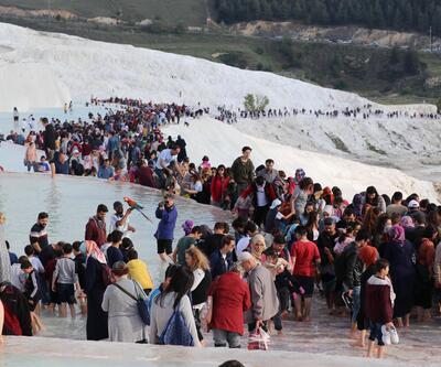 'Beyaz cennet'e rekor ziyaret