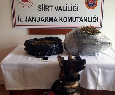 Siirt'te 10 kilo esrara 3 tutuklama