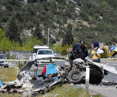 Muğla'da zincirleme trafik kazası: 1 ölü, 2 yaralı