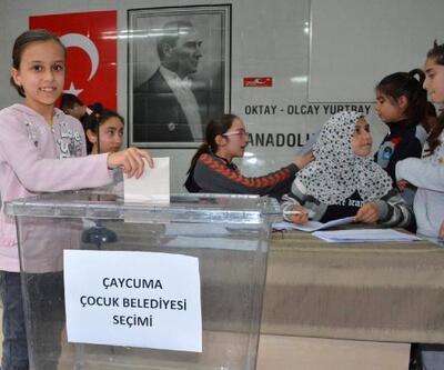Çaycuma'da çocuklar, sorunlarını kendi belediye başkanıyla çözecek