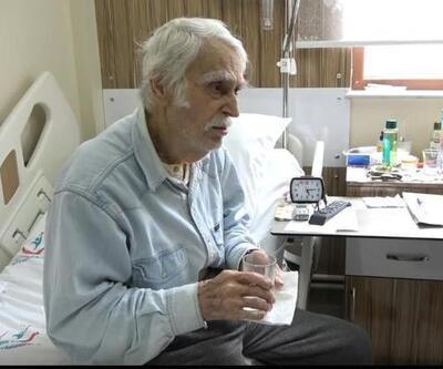 Eşref Kolçak tedavi altında! Gönüllüler refakat ediyor