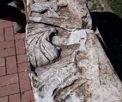 Kanalizasyondan 2000 yıllık lahit çıktı