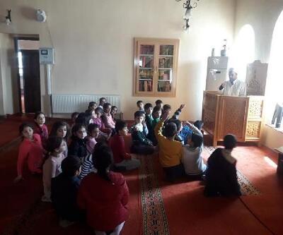 Ergani'de öğrencilere cami gezisi etkinliği