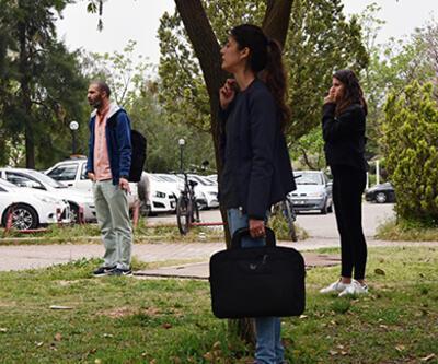 Akdeniz Üniversitesi'nde hareketli anlar