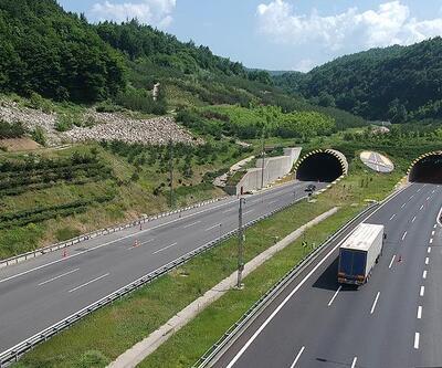TEM'in Bolu Dağı geçişinde çalışma: İstanbul yönü 26 gün kapalı olacak