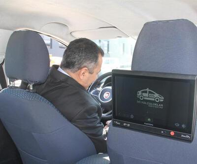 Havalimanı taksilerine son teknoloji uygulama