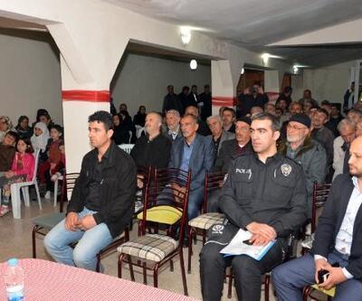 Tokat'ta mahallelerde 'Huzur Toplantısı' yapılıyor