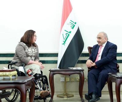 Irak Savaşı'nda bacaklarını kaybeden ABD eski subayı yeniden Irak'ta
