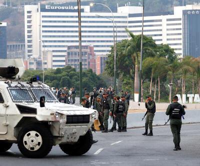Son dakika... Venezuela'da askeri darbe girişimi