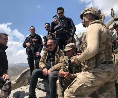 Vali Atik, 5 teröristin etkisiz hale getirildiği bölgede