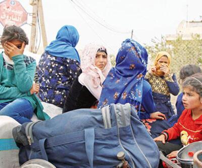 Suriye'de yeni göç dalgası