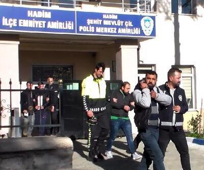 Konya'da uyuşturucu operasyonu: 3 kişi tutuklandı