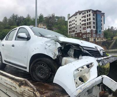 MHP MYK üyeleri Rize'de kaza yaptı